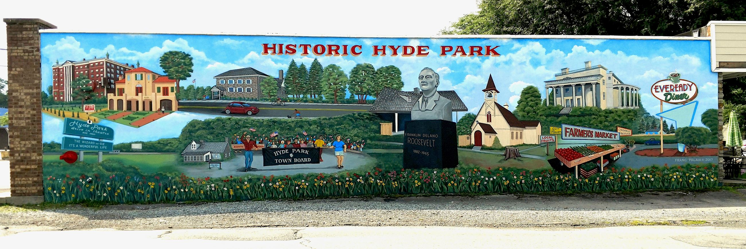 Hyde Park Mural by Franc Palaia © 2017