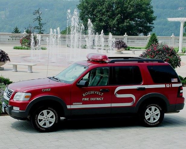Roosevelt Fire District Chief's Car