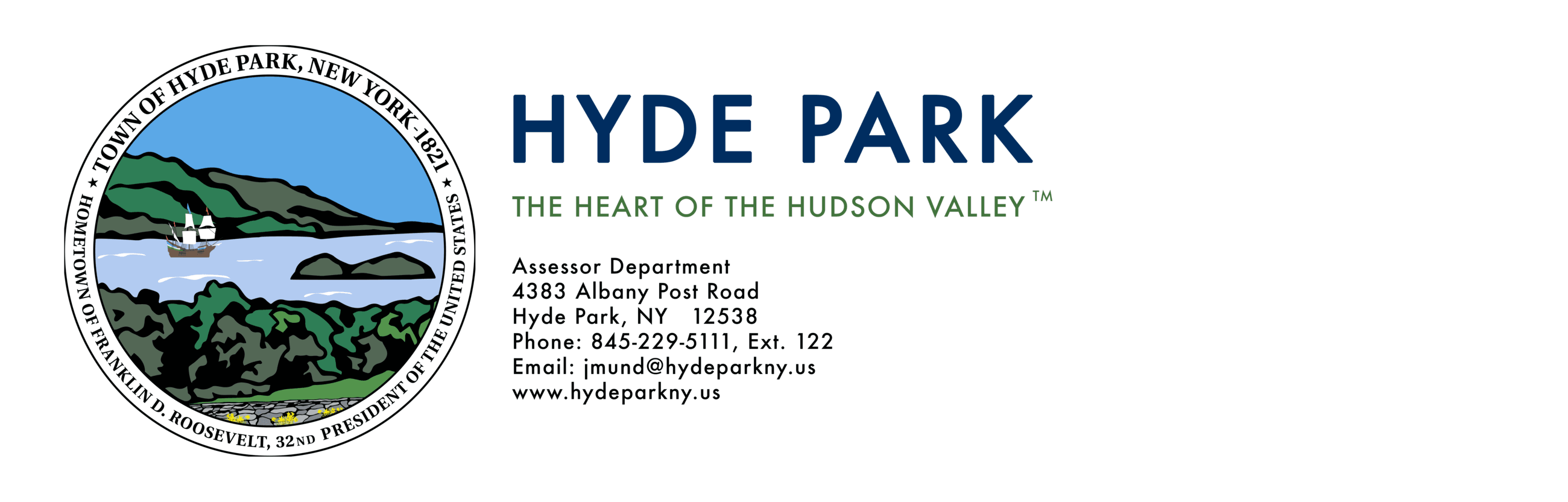 Hyde Park Logo and Tagline Assessors Department