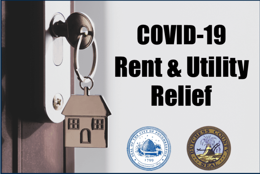 Covid-19 Rent and Utility Relief Graphic